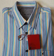 Gabicci Vintage Mens Gents Multi Colour Long Sleeve Shirt Size X-Lge