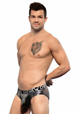 Andrew Christian Almost Naked Disco Brief Silver Hologram 90732