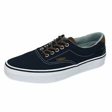 VANS ERA 50 DRESS BLUE AND ACID DENIM CANVAS TRAINERS