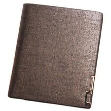 Aelicy Men Wallet Bifold Business Leather Money Card Holder Coin Bag Purse @