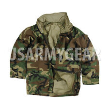 US Army Cold Wet Weather Gen 2 II  ECWCS Woodland Military Goretex Parka Jacket