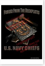 GOAT LOCKER! Chief Petty Officer Navy Challenge Coin E