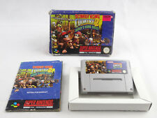 Donkey Kong Country 2 Diddy's Kong Quest SNES Super Nintendo Boxed PAL