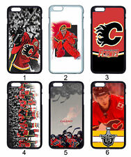 NHL Calgary Flames For Apple iPhone 11 iPod / Samsung Galaxy Note 10 Case Cover