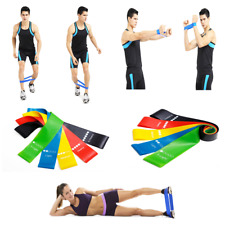 Resistance Band sport Exercise Yoga Bands Rubber winter Fitness Training Workout