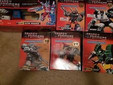 Transformers G1 TRU Commemorative Series (I, III, IV & V) MISB