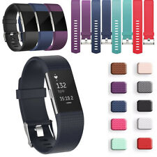 For Fitbit Charge 2 Watch Strap Wrist Band Replacement Soft Silicone Spare Band