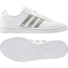 detailed look 98985 52e7c Adidas Grand Court Womens Ladies Sports Casual Lace Up Shoes Trainers  Footwear