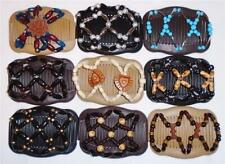 """Angel Wings Hair Clips 4x3.5"""", African Butterfly Style, Magic Combs, Quality S49"""
