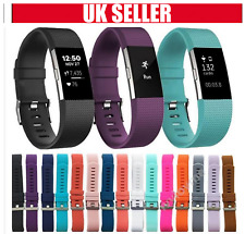 Silicone Replacement Strap For FitBit Charge 2 Sports Bracelet Watch Wristband