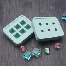 DIY Clear Silicone Mold Making Jewelry Beads Resin Casting Rectangle Mould Tools