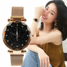 Luxury Starry Sky Watch Magnet Stainless Strap Free Buckle Watch Women Gift 2019