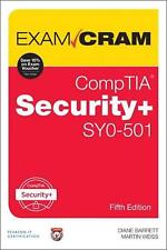Comptia Security Sy0501 Exam Cram: CompTIA Security+ SY0-501 by Diane Barrett Pa