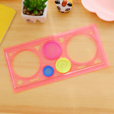 Spiral Ruler Classic Toy Stationery 20*11cm Drafting Gifts Tool Students Drawing