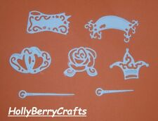 8 Tattered Lace Sleigh Die Cuts