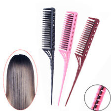 1Pc 3-Row Teeth Teasing Comb Rat Tail Comb  Hair Styling Hairdressing Comb_BHI