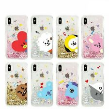 Official BT21 Glitter Soft Case Phone Cover for iPhone Galaxy KPOP BTS