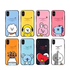 Official BT21 Hang Out Multi Card Case Phone Cover for iPhone Galaxy KPOP BTS