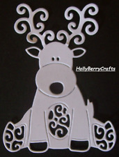 "SEASONAL DIE CUT TOPPERS ~ /""CHRISTMAS PUDDING/"" TATTERED LACE CHRISTMAS"