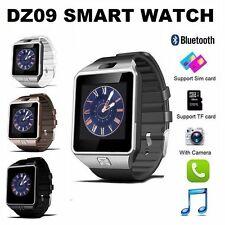 Bluetooth DZ09 Smart Watch For Android HTC Samsung iPhone iOS Camera SIM Slot @