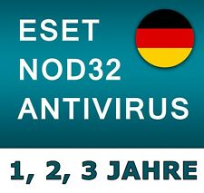 ESET Nod32 Antivirus 2019 - Global Lizenz - 1, 2, 3 PC / 1, 2, 3 Jahre