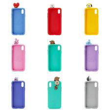 Official BT21 Glance Figure Silicon Phone Case Cover for iPhone Bangtan Boys BTS