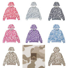 Official BT21 Camouflage Hoodie Zip-up Casual Clothing Bangtan Boys BTS Goods