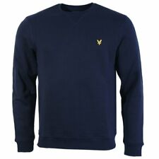 Lyle & Scott Mens Crew Neck Sweatshirt Navy