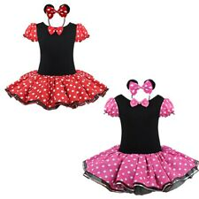 Baby Kids Girls Princess Mouse Tutu Dress Fancy Dress Cosplay Party Costume