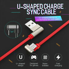 Fast Charging Cable 180 Degree USB Game Data Sync Lightning For iphone Android