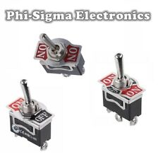 Heavy Duty Toggle / Flick Switch - Various Types - Screw Terminals