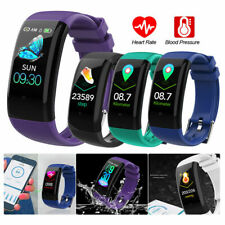 NEW Smart Watch Blood Pressure Heart Rate Monitor Sport Bracelet Fitness Tracker
