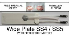 GHD Heater Elements 70 ohm  Wide Plate for  GHD models  SS 4.0,  SS 5.0