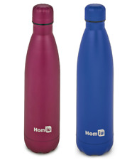 Homiu Water Bottle Double Walled Hot & Cold Vacuum Insulated Stainless Steel
