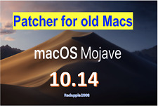 Patcher macOS Mojave10.14.5 Apple Mac OS X OSX USB Bootable installer Recovery