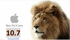 Lion Mac OS X 10.7 Apple OSX USB Bootable installer Recovery Drive Disk macOS