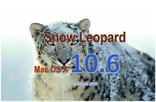 Snow Leopard Mac OS X 10.6 Apple OSX USB Bootable installer Recovery Drive Disk