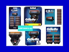 GILLETTE FUSION PROGLIDE RAZOR BLADES OFFICIAL UK STOCK 100% GENUINE BRAND NEW