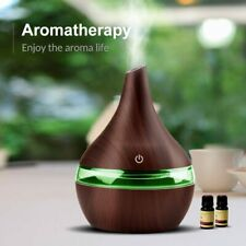 300ML Home Aroma Air Diffuser Ultrasonic Essential Oil Aromatherapy Humidifier