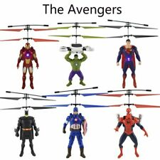 The Avengers Big Superhero mini Helicopter RC drone Fly Flashing Induction