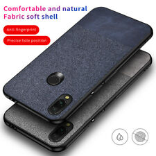 For Xiaomi Redmi Note 7 Mi A2 Lite 7 Hybrid Jeans Carbon Fiber Matte Case Cover
