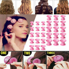 30x Magic Silicone Hair Curlers Rollers No Clip Formers Styling Curling DIY Tool