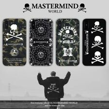 Mastermind World Japan Skull Soft Case For iPhone 6 7 8 plus X XR XS MAX