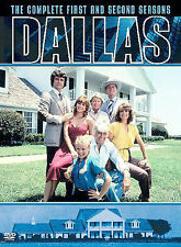 DALLAS 1978 TV Series Complete First and Second Season 1 and 2 DVD 5 Disc Set