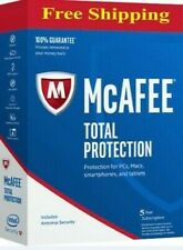 McAfee Total Protection 2019 Antivirus  windows   5 Year Fast Download