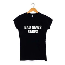 BAD NEWS BABES WOMENS T SHIRT | MANY COLOURS | hipster
