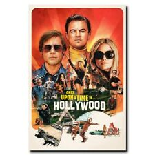 Once Upon a Time in Hollywood 12x18 24x36inch Movie Silk Poster Art Print