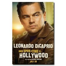 Once Upon a Time in Hollywood 24x36inch Leonardo DiCaprio Movie Silk Poster