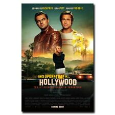 Once Upon a Time in Hollywood 12x18 24x36inch Movie Silk Poster Room Door Decals