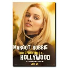 Once Upon a Time in Hollywood 12x18 24x36inch Margot Robbie Movie Silk Poster